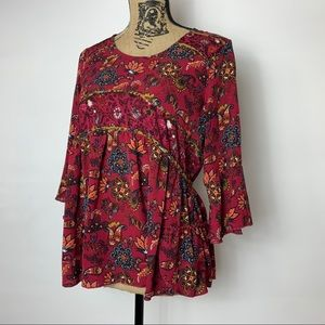New Collection paisley blouse PM